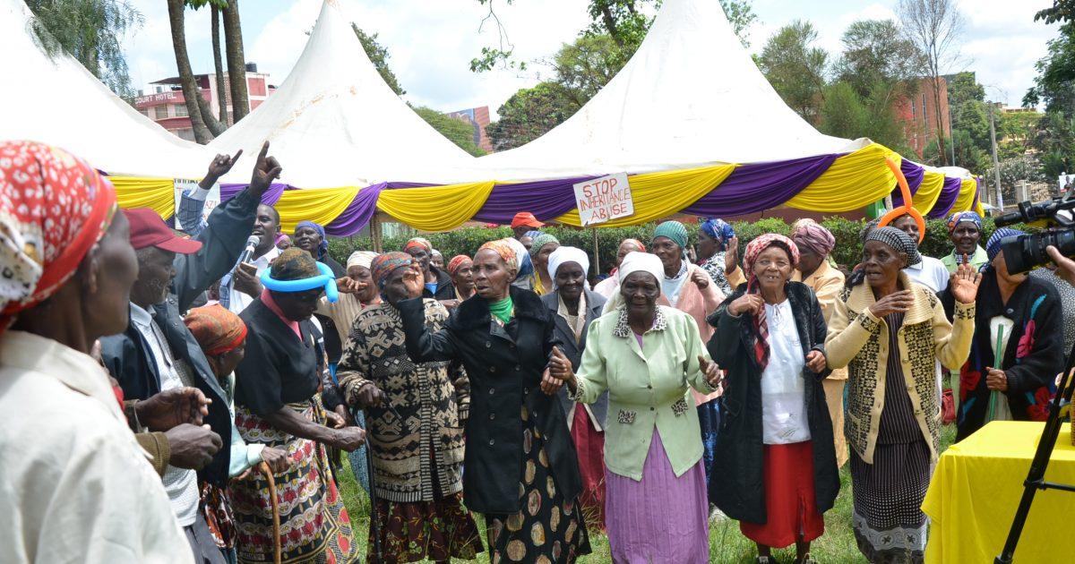 An image of elders