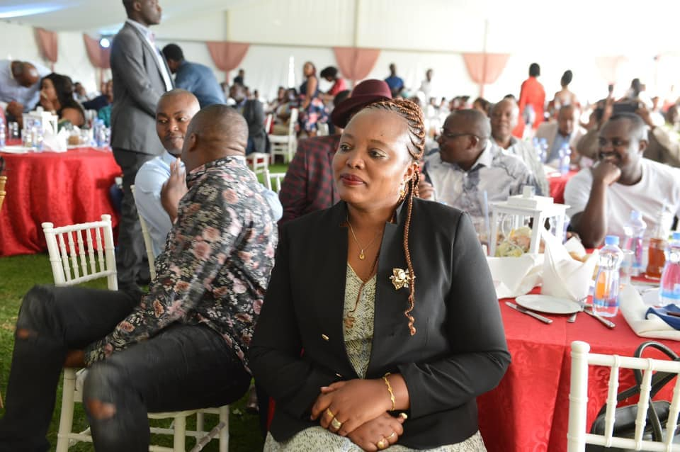 Nyeri Woman Representative Rahab Mukami at a past event.