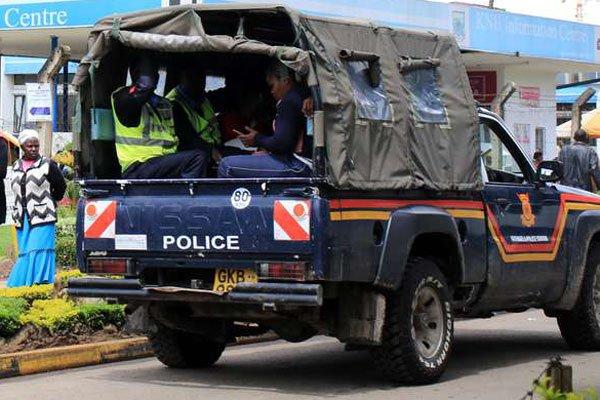 DCI Intercepts Suspicious Somalis Aboard Police Vehicle - Kenyans ...