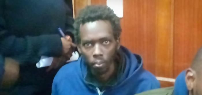 Brian Bera, a man who was shot by security officers while trying to intrude state house.