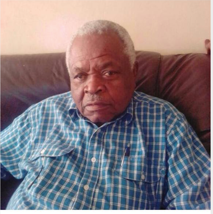 Miguna Miguna's father in law Mzee Benson Omolo Awange who passed away on Thursday, January 2.