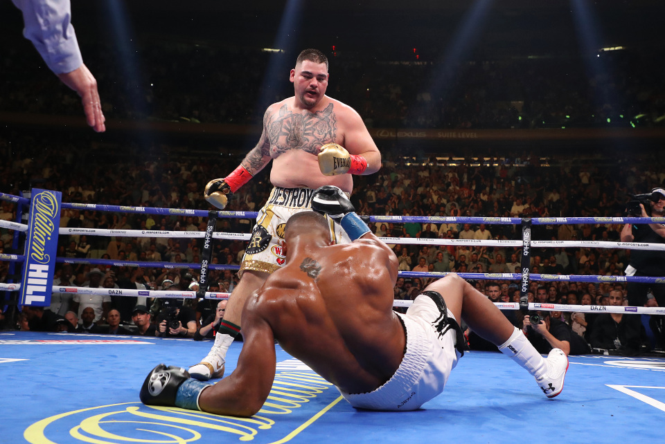 Ruiz wants £40m for Joshua rematch