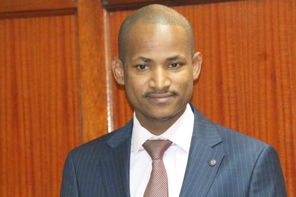 Embakasi East MP Babu Owino who came under fire after supposedly equating Raila to God in a social media post.