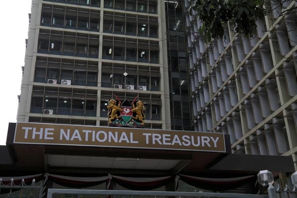 National Treasury where the messenger worked between 2014 and 2017, the same time he used to amass an unexplained wealth of Ksh700 million.