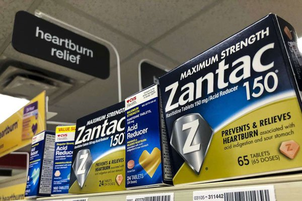 Zantac a popular medication which prevents heartburn. The medicine has been withdrawn from the Kenyan market due to cancer claims