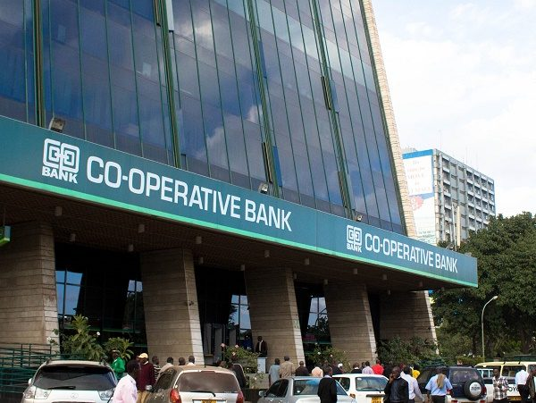 Co-op Bank Headquarters in Nairobi City.