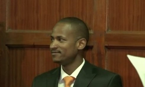 Embakasi East MP Babu Owino at the Milimani Law Courts on Monday, January 20