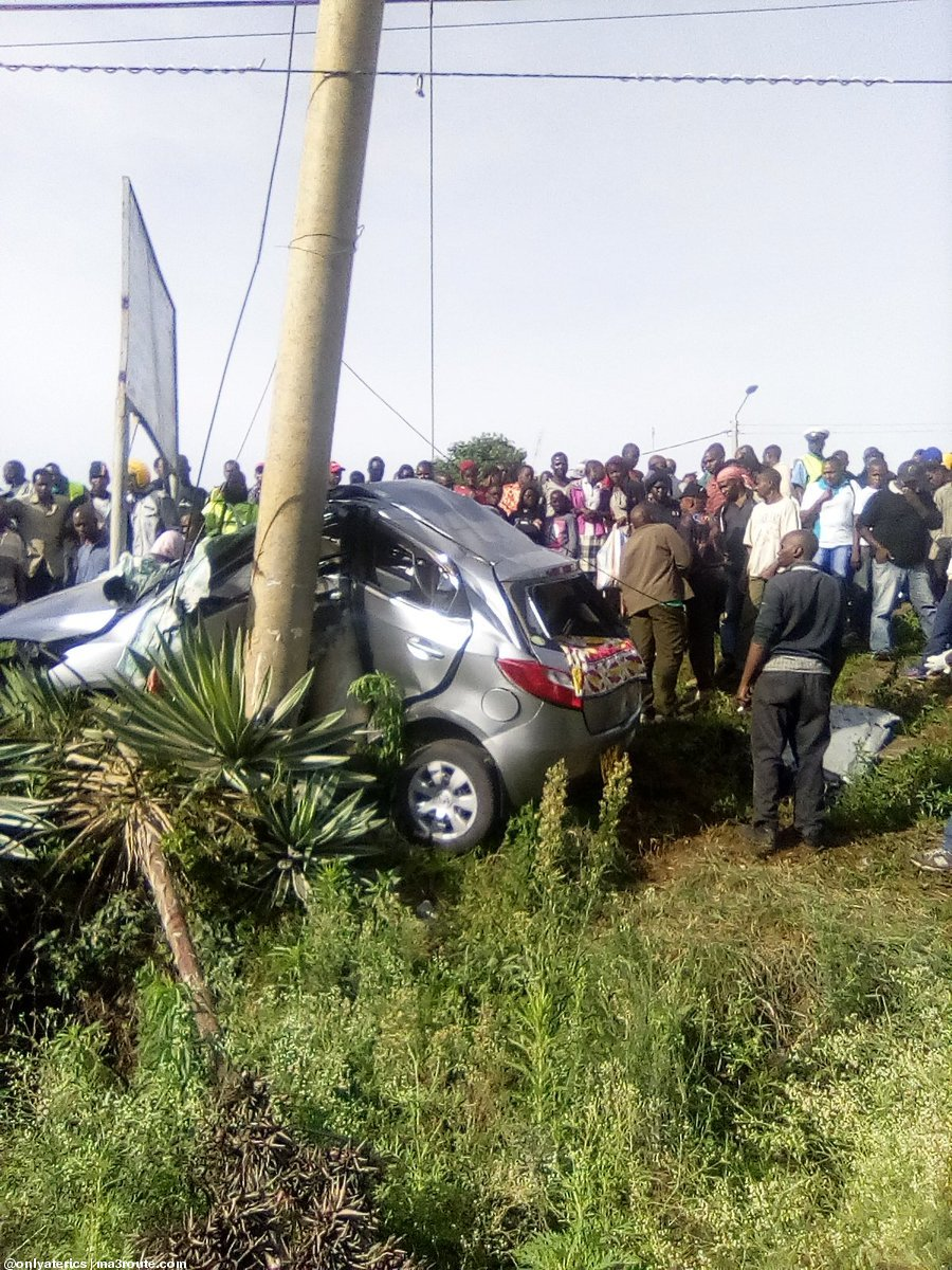 Three Killed In Horrific Road Crash In Nairobi Kenyans Co Ke
