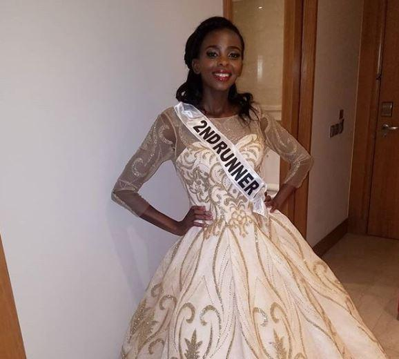 Elsie Stephens emerged 2nd Runners Up in the 2018 edition of the Miss Universe Kenya.