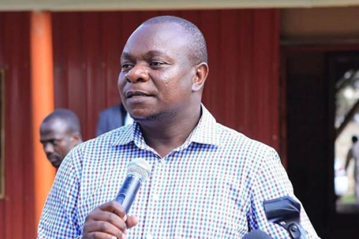 ODM Comms Director Philip Etale who trolled a photo of MP Aisha Jumwa and DP William Ruto at the beach.