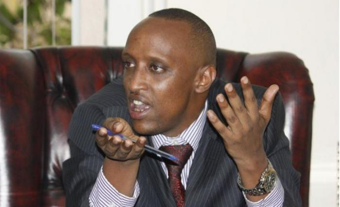Ousted Nairobi majority leader Abdi Guyo. The Matopeni MCA was officially kicked out as majority leader on Tuesday, November 12