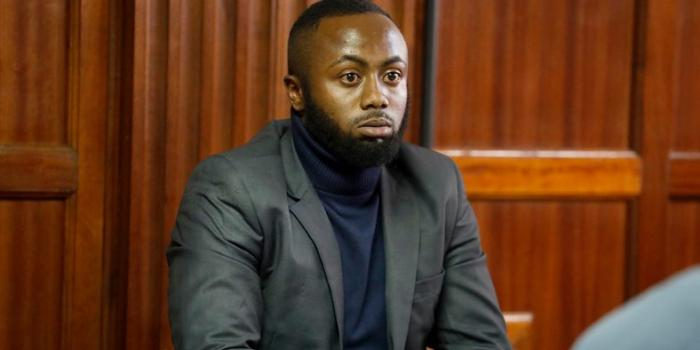 Jowie Irungu in court in November 2019. He was transferred from Kamiti Maximum Security Prison to Manyani Maximum Security Prison in Voi, Taita Taveta