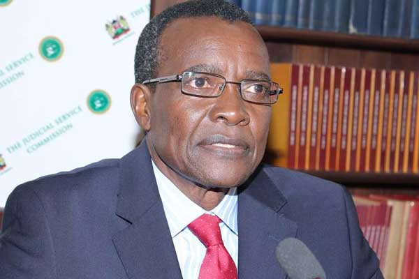 President Uhuru Kenyatta on Tuesday, January 14, lashed out at Chief Justice (pictured) due to pending corruption cases.