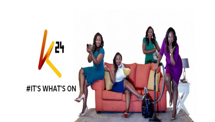 An image of Betty Kyallo and the new station's logo