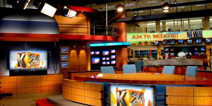 K24TV studios. A number of employees lost their jobs in the media house in a new reorganization drive.