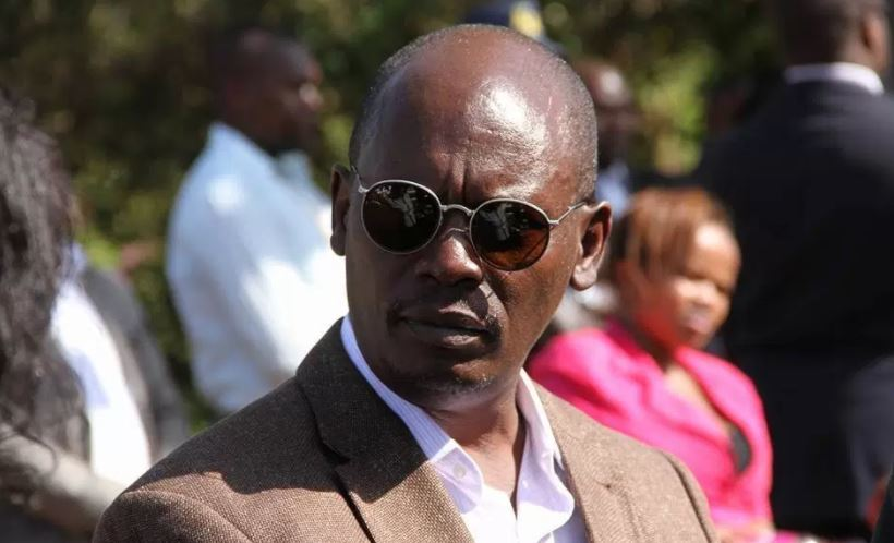 A past photo of William Kabogo