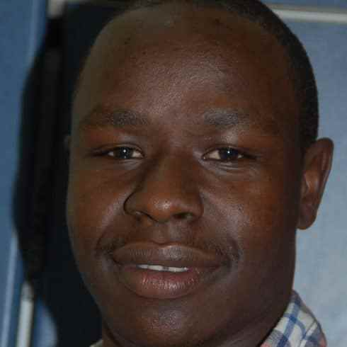 Journalist Kelvin Mokaya who called out DCI for not carrying out proper investigations before apprehending suspects.