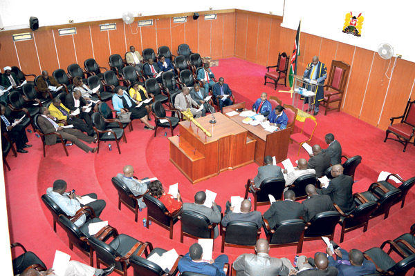 Kiambu county assembly moved the motion to ouster Karungo on grounds of gross misconduct