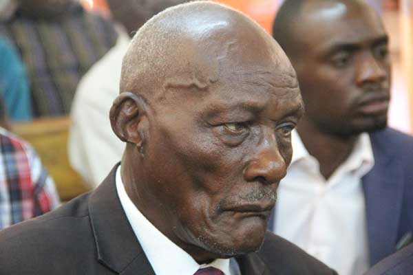 Billionaire Jackson Kibor who ranted at the men's conference in Eldoret