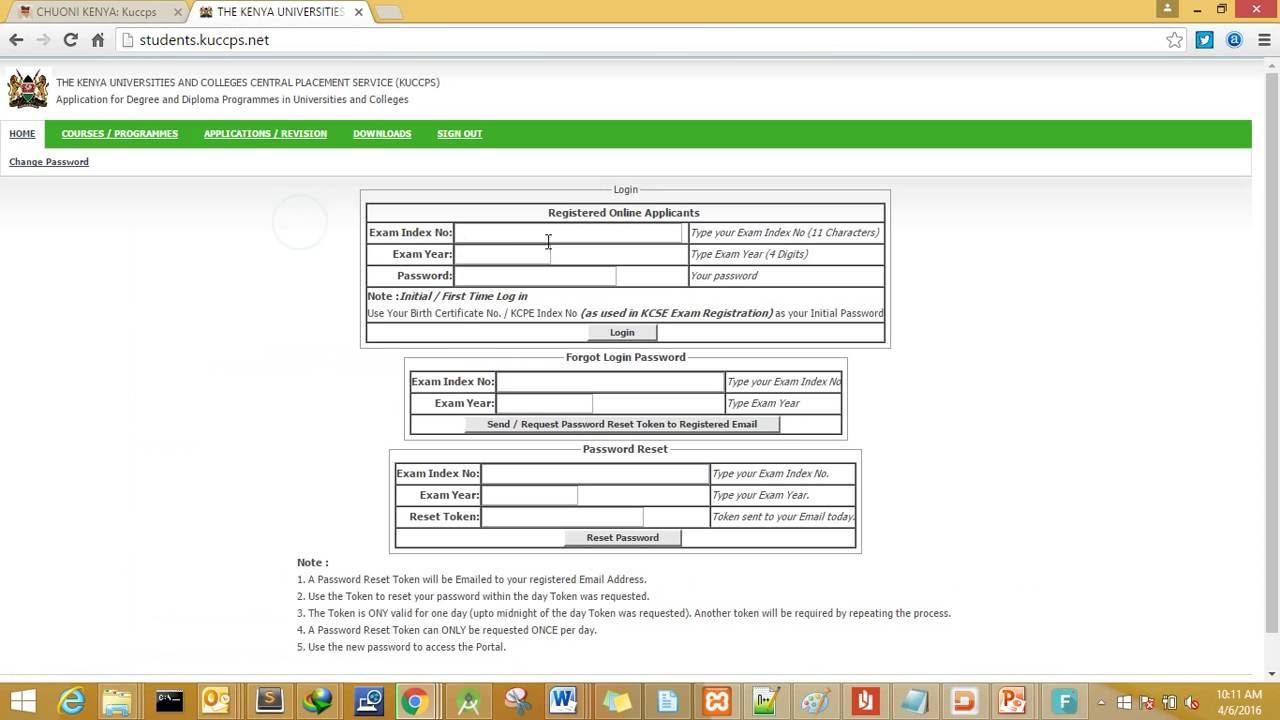 Kuccps Portal  How To Revise University Courses