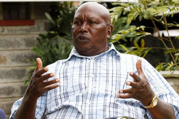 Lee Njiru, former President Daniel Moi's family spokesperson during an interview at his Geranium Resort in Nakuru on March 13, 2018.