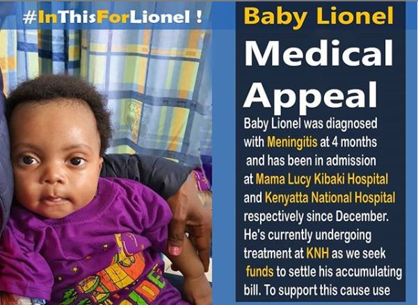 A medical appeal by Lionel Legend's family