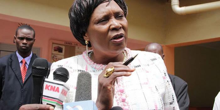 Former Othaya MP Mary Wambui. She was appointed on Monday, October 14, to head the National Employment Authority.
