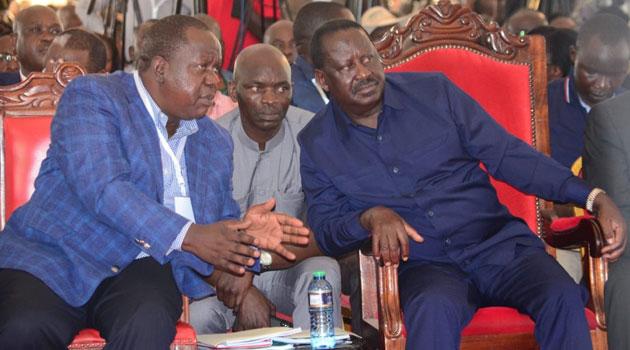 Matiang'i Spills Raila's Plans for Him Ahead of 2022 - Kenyans.co.ke