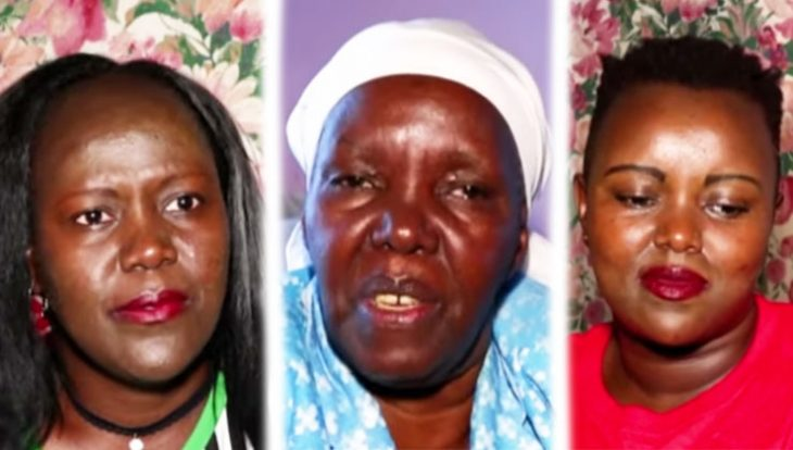Alice Mugure (Left), Hannah Mugure (Center) and Nancy Wambui who described Peter Mugure as a humble person. They gave accounts to Citizen TV on Wednesday, November 20, 2019.