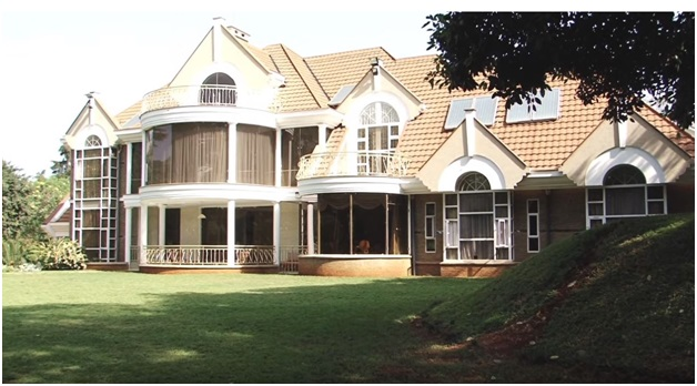 A victorian mansion at Muthaiga.