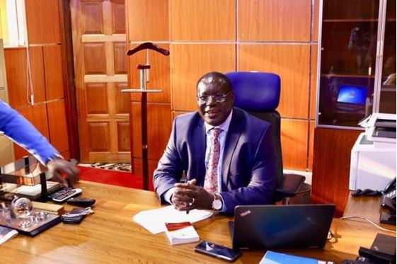 Deputy Governor James Nyoro.  A Kiambu resident moved to court to challenge his move to reshuffle County Executive Committee members (CECs).