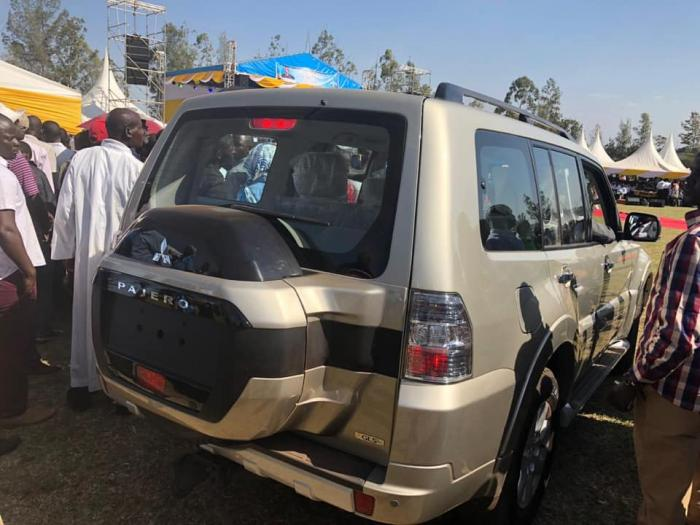 Image result for ruto's car gift