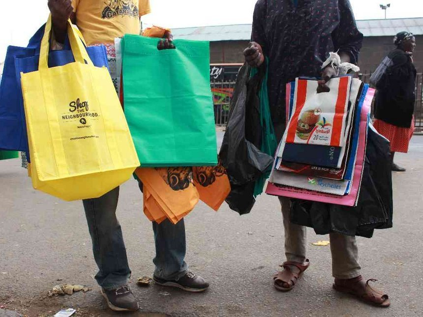 Image result for ban of non woven bags in kenya