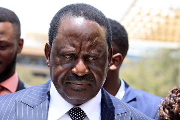 Owino has, in the past, expressed his love for Raila Odinga (pictured) and at one point declared that he only believes him.