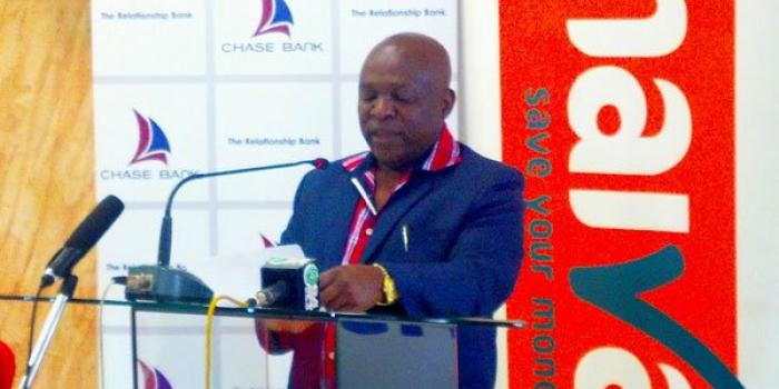 Naivas Supermarkets Chairman Simon Gashwe Mukuha at a past event