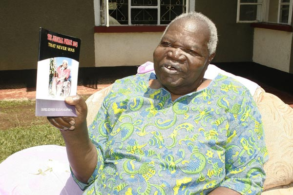 Daniel Aganyanya(Pictured) died on Friday, January 17, at the Aga Khan Hospital in Kisumu.