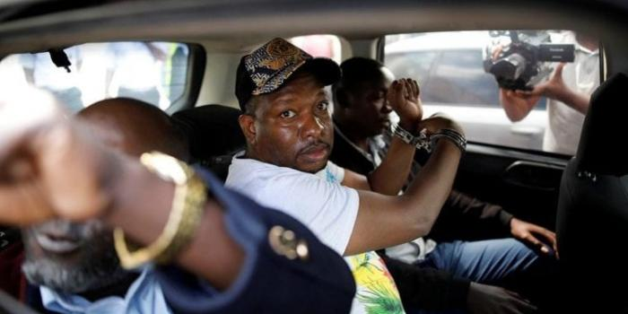 Nairobi Governor Mike Sonko who was arrested on Friday, December 7, allegedly escaping to Tanzania FILE