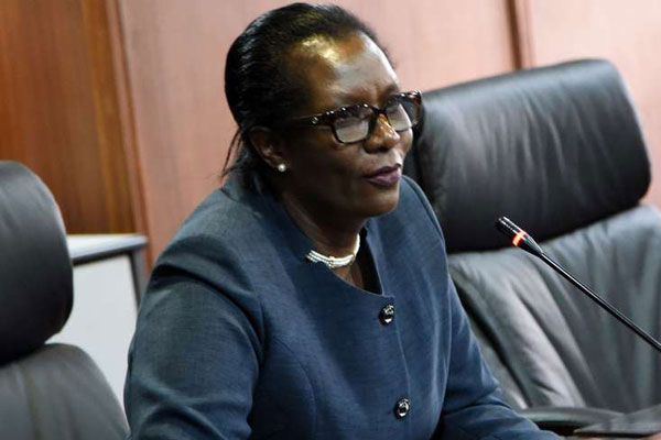 Salaries and Remuneration Commission Chairlady Lyn Mengich (Pictured) was on Friday, January 17, lectured by President Uhuru Kenyatta.