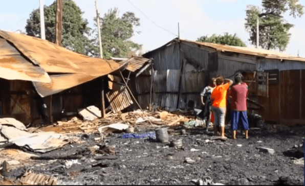 Residents torch houses after tenant is allegedly killed by landlord
