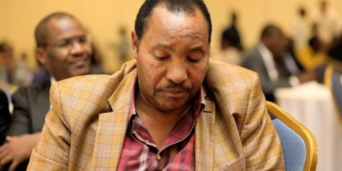 Ousted Kiambu Governor Ferdinand Waititu during the Council of Governors meeting on January 20, 2020.