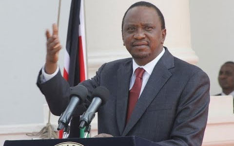President Uhuru Kenyatta. He ordered for the cancellation of the Kimwarer project contract on Wednesday, September 18.