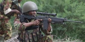 A picture of a KDF soldier.