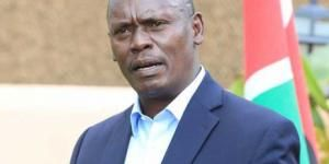 Kiambu Governor William Kabogo addressing the media