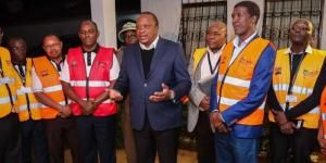 President Uhuru Kenyatta during enumeration reference night on August 24, 2019.