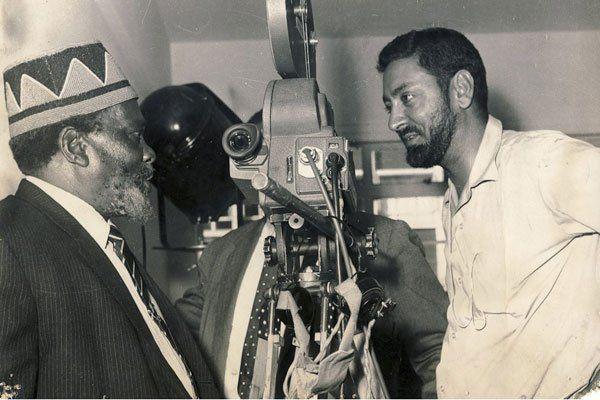 Mohinder Dhillon pictured with Kenya's founding President Mzee Jomo Kenyatta in 1966