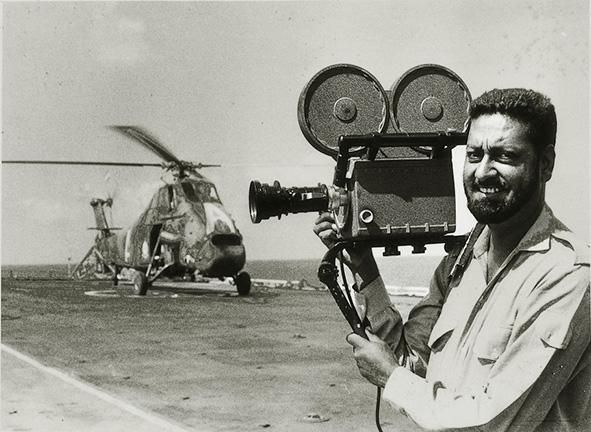 File image of Mohinder Dhillon in his heyday as a photographer