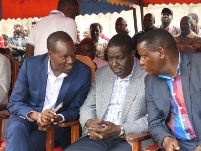 Dagoretti North Member Of Parliameny Simba Arati sharing alight moment with friends during a past event.