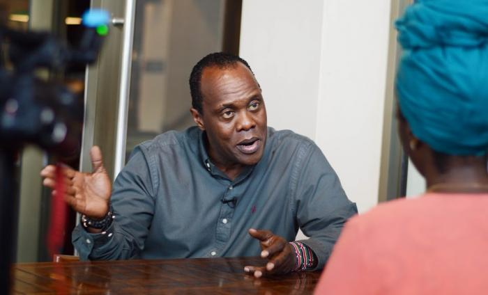 Citizen TV's Jeff Koinange in an interview with Kenyans.co.ke Monday, November 25, 2019