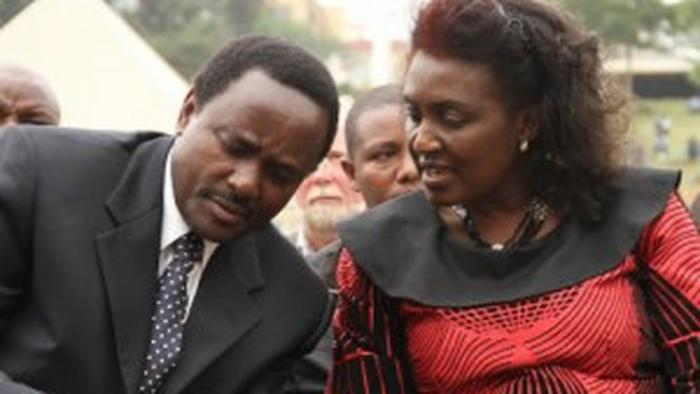 Kalonzo Musyoka with wife Pauline. In his autobiography Against All Odds, the Wiper leader narrated how she survived a carjacking ordeal after the 1988 elections