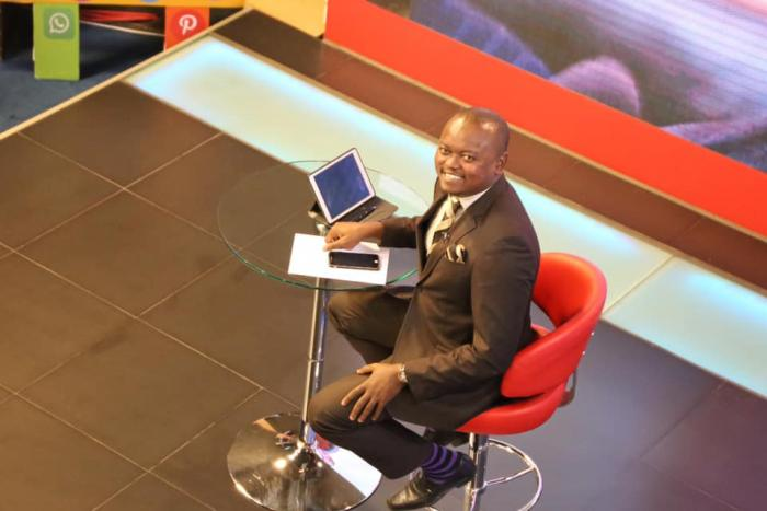 KTN news anchor Ali Manzu is grateful for the opportunities KTN has offered him